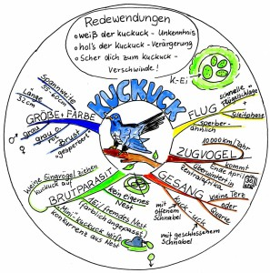 Mind-Map Rundie vom Kuckuck