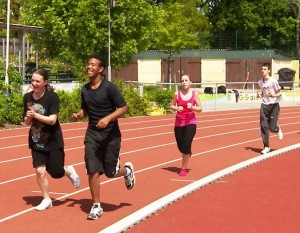 Nach dem Jogging kann man besser lernen