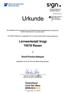 Lernspiel Speedolino als Good-Practice- Beispiel auf der Hannovermesse