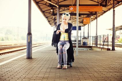 Warten auf den Zug? Zeit für Gehirn- Training