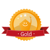 Logos-Mitgliedschaftsstatus-Gold