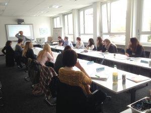 Gruppenseminar zum Thema Lernen lernen