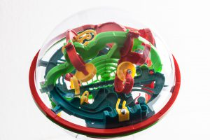 Labyrinthball zum Kompetenztraining