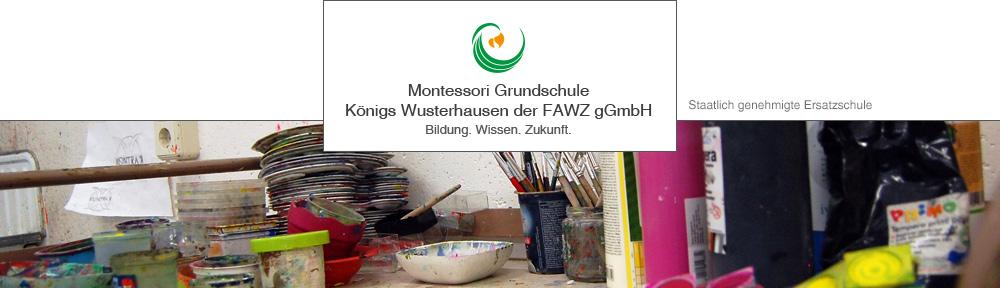 Montessori Grundschule Königs Wusterhausen der Fürstenwalder Aus- und Weiterbildungszentrum gGmbH